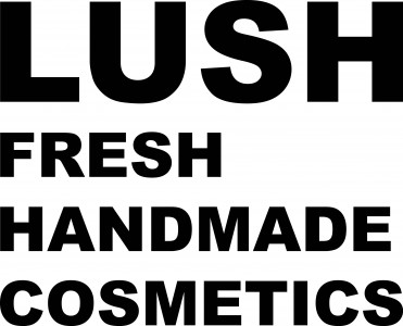LUSH LOGO side projecting