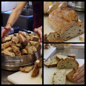 Bread destined for the bin