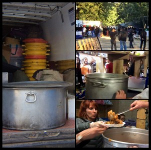 Enough leftover to feed 500 refugees