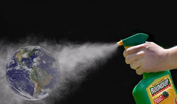 Sprayed Earth