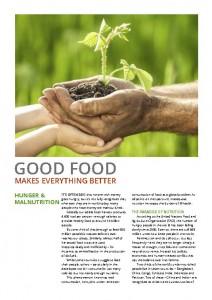 Hunger leaflet