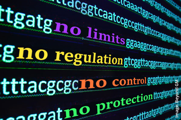 """We don't need no regulation"""" – Biotech bullies want to re-engineer"""